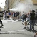 EB 2016: könnygázt vetett be a francia rendőrség
