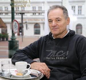 Gyuris László, mestercukrász, a Virág és Kis Virág Cukrászdát üzemeltető cég ügyvezetője Fotó: SzegedMa.hu