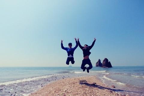Dél-Koreában szétnyílt a tenger!