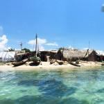 Ilet a Brouee, a legapróbb és legsűrűbben lakott sziget