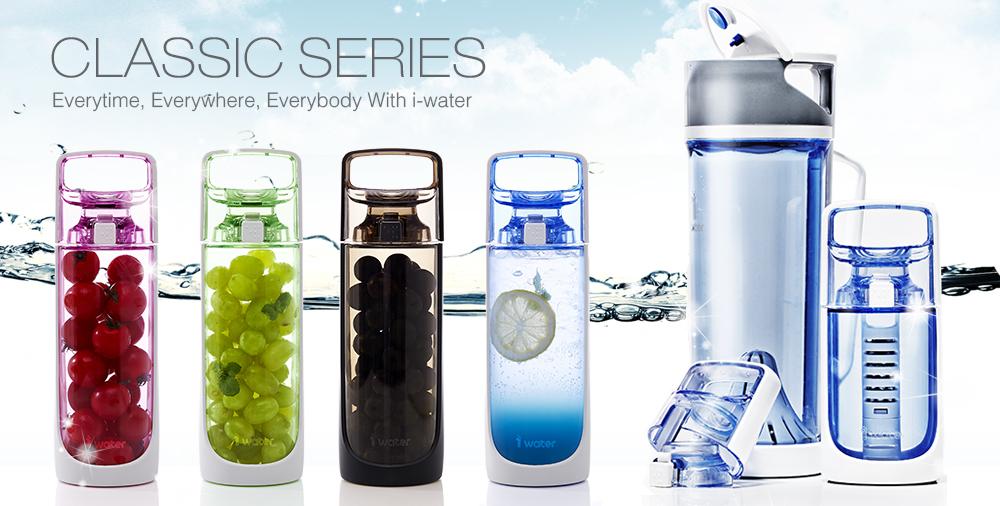 iwater palackok - tiszta víz otthonában